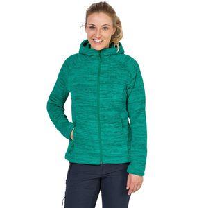 Jack Wolfskin Fleecejacke Frauen Aquila Hooded Jacket Women S grün