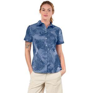 Jack Wolfskin Bluse Sonora Palm Shirt L blau