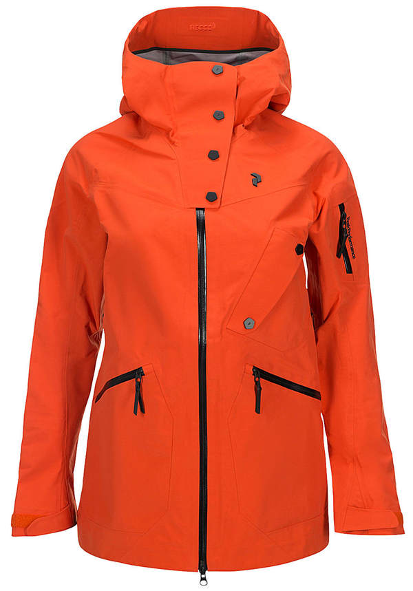 Peak Performance Bec - Outdoorjacke für Damen - Orange