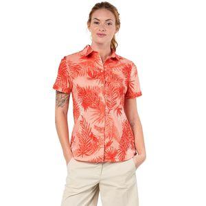 Jack Wolfskin Bluse Sonora Palm Shirt M rot