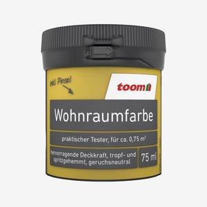 toomEigenmarken -              Wohnraumfarbe Sonnengelb matt 0,075 l