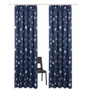 Vorhang »Solana-Star«, my home, Kräuselband (2 Stück)