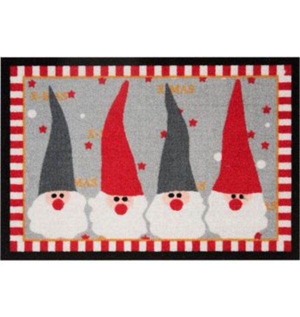 Fußmatte »Weihnachtswichtel«, HANSE Home, rechteckig, Höhe 7 mm