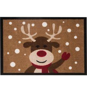 Fußmatte »Reindeer«, HANSE Home, rechteckig, Höhe 7 mm