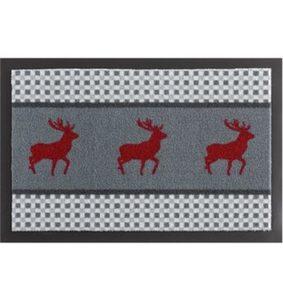 Fußmatte »Hirsch Deer«, HANSE Home, rechteckig, Höhe 7 mm, rutschhemmend beschichtet