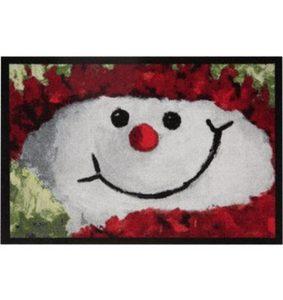Fußmatte »Snowman«, HANSE Home, rechteckig, Höhe 7 mm
