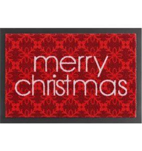 Fußmatte »Merry Christmas«, HANSE Home, rechteckig, Höhe 7 mm, rutschhemmend beschichtet