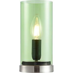 NINO Retrofit Tischlampe LAIK Glas Grün