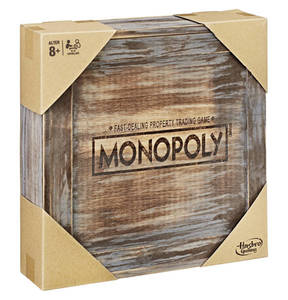 Hasbro        Monopoly Holz Sonderedition