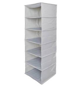 Essential needs             Hänge-Organizer, 6 Fächer, 2 Haken, zusammenklappbar (107 x 30,5 x 29 cm)