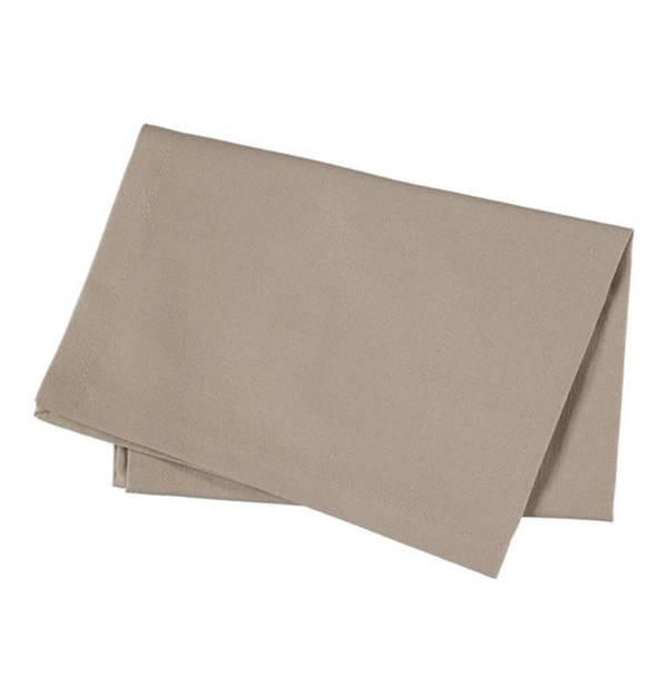 Essential needs             Serviette, uni, 2-teilig, reine Baumwolle, 40 x 40 cm