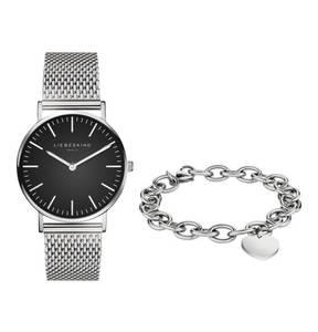 Liebeskind             Set Damenuhr und Armband LS-0033-MQB
