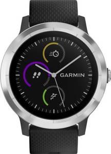 Garmin vivoactive 3 black M/L Smartwatch L Schwarz