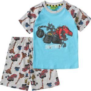 Dinotrux Schlafanzug Gr. 116/122 Jungen Kinder
