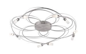 Paul Neuhaus - LED-Deckenleuchte Nelia in stahlfarbig, 80 cm