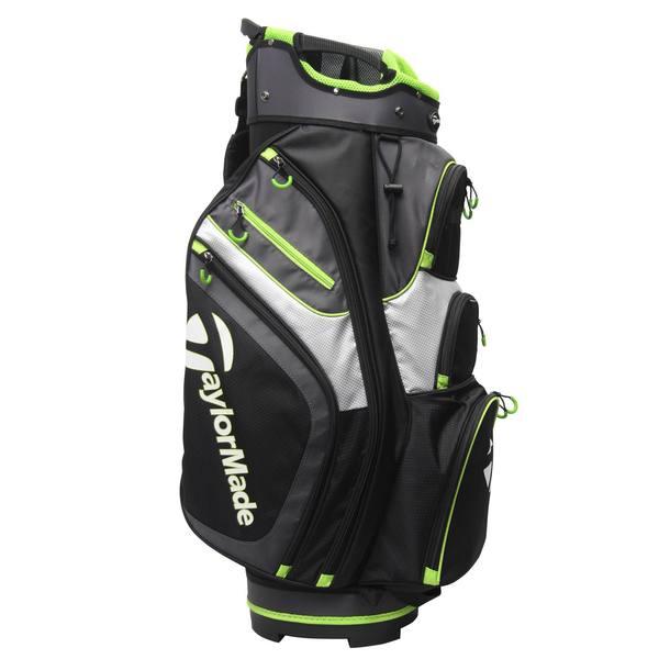 Golf Cartbag TM schwarz/limette