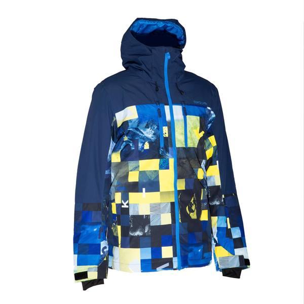 Skijacke Quiksilver Yebow Herren blau