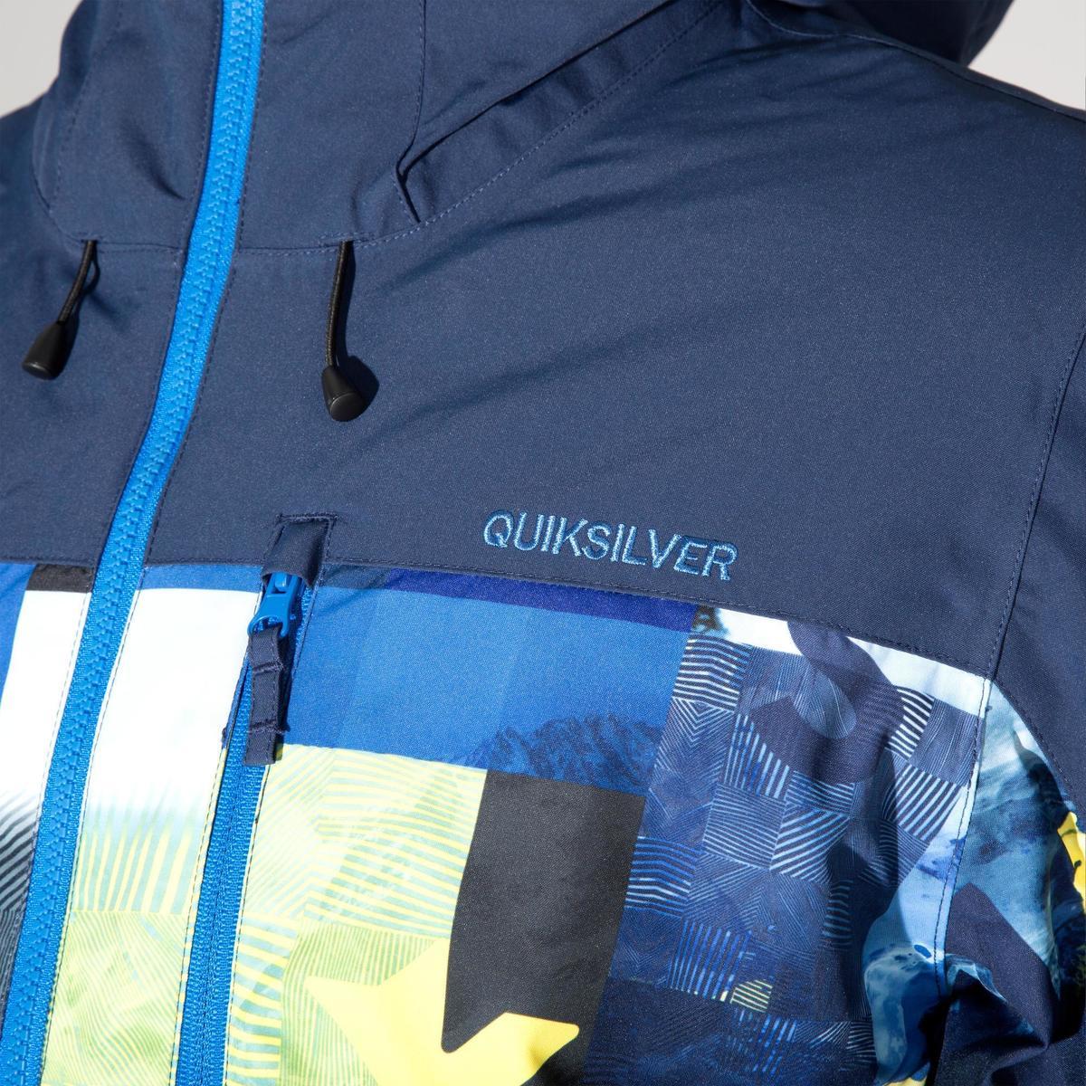 Bild 4 von Skijacke Quiksilver Yebow Herren blau