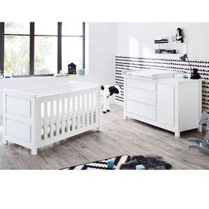 PINOLINO   2-tlg. Babyzimmer Milk extrabreit