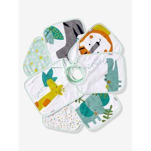 VERTBAUDET   7er-Pack Baby-Lätzchen mehrfarbig/dschungel