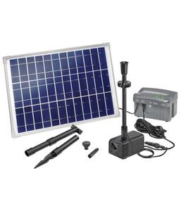 esotec Solarpumpensystem Siena LED für den Gartenteich