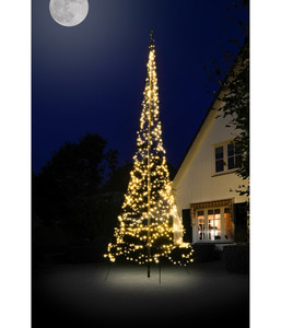 Fairybell Weihnachtsbaum inkl. Mast, 900 LEDs, H 600 cm