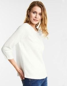 Street One - Sweatshirt mit Jacquard-Design