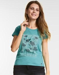 CECIL - Shirt mit Blumen Druck