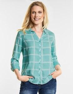 CECIL - Karo Style Bluse
