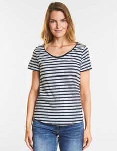 """Street One - Basic-Shirt """"Gerda"""" mit Streifen"""