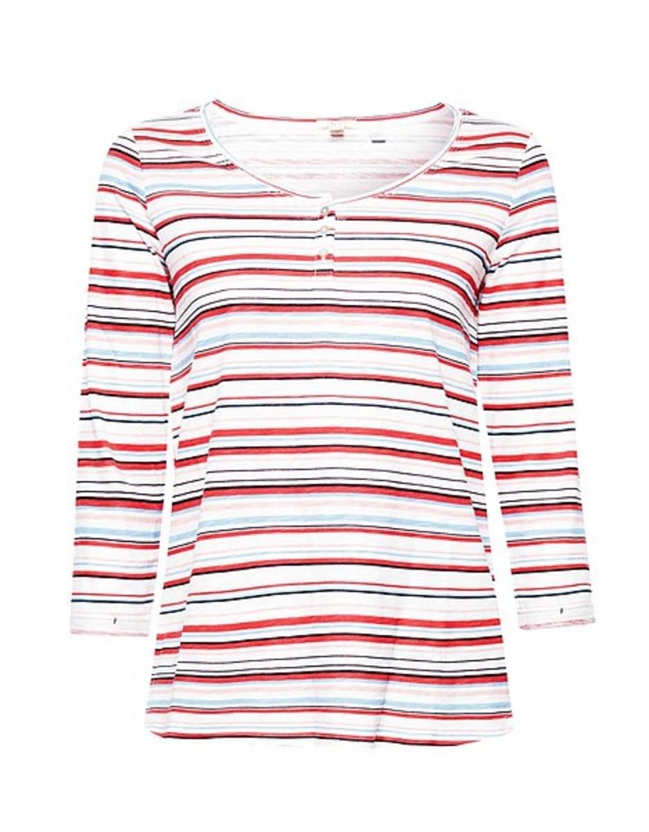 Bild 4 von Esprit - Slub-Shirt mit Print