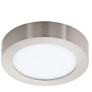 Eglo LED-Aufbauspot Fueva 1 Nickel matt Ø 17 cm