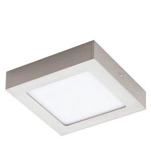 Eglo LED-Aufbauspot Fueva 1 Nickel matt 17 cm x 17 cm