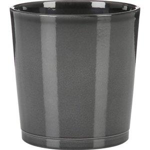 Scheurich Pflanzgefäß 683 Ø 12,5 cm Glass Grey