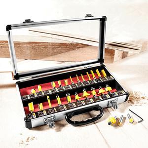 Kraft Werkzeuge Fräseinsatz-Set
