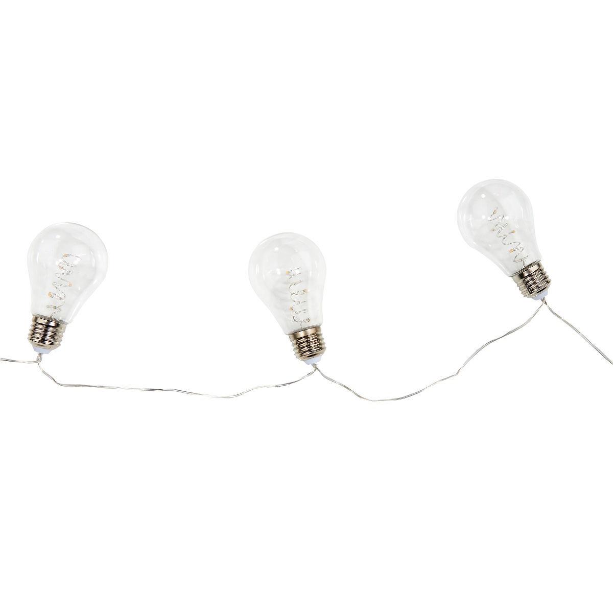 Bild 3 von LED Glühbirnenkette 10 Lichter transparent
