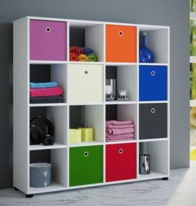 VCM Regal ´´Benas-4x4´´   Sammel - Rack Stand Möbel, Raumteiler