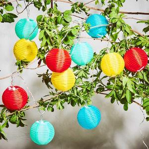 Outdoor Lichterkette 10 Lichter