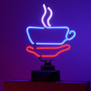 Neon-Leuchte Kaffeetasse