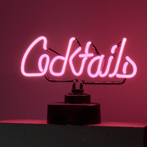 Neon-Leuchte Cocktails