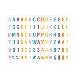 Bunte Extra-Buchstaben