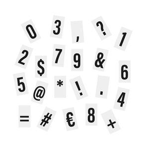 Extra-Zahlen & Zeichen für Light Box
