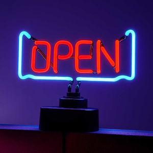 """Neon-Leuchte """"Open"""""""