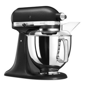 KitchenAid ARTISAN 5KSM175PSEBK Küchenmaschine Gusseisen schwarz + Fleischw 5FGA