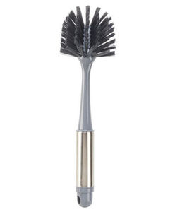 Spülbürste - glänzender Griff, mit Loch - ca. 25 cm