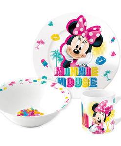 Minnie Mouse - Kindergeschirr - Motive - 3-tlg. Set