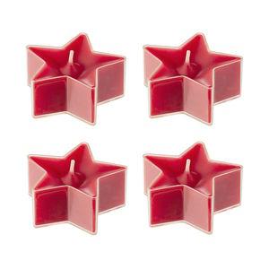 Teelichte Stern 4er-Set