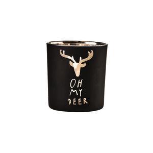 Teelichthalter Oh my deer 8 cm