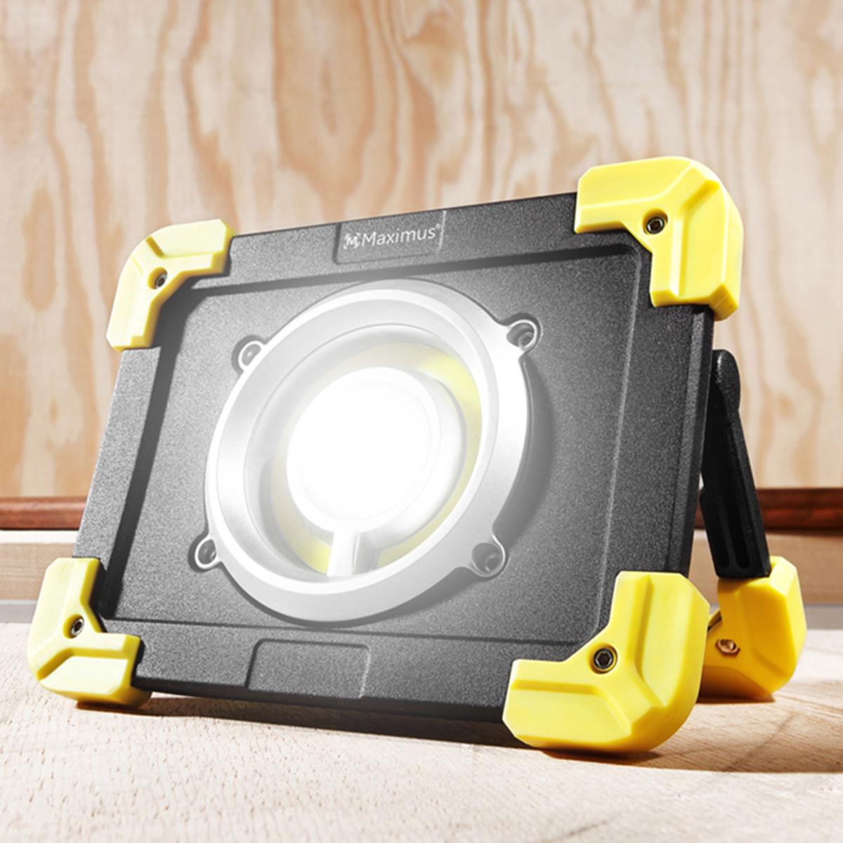 Bild 1 von Maximus Akku Arbeitsstrahler mit COB Licht