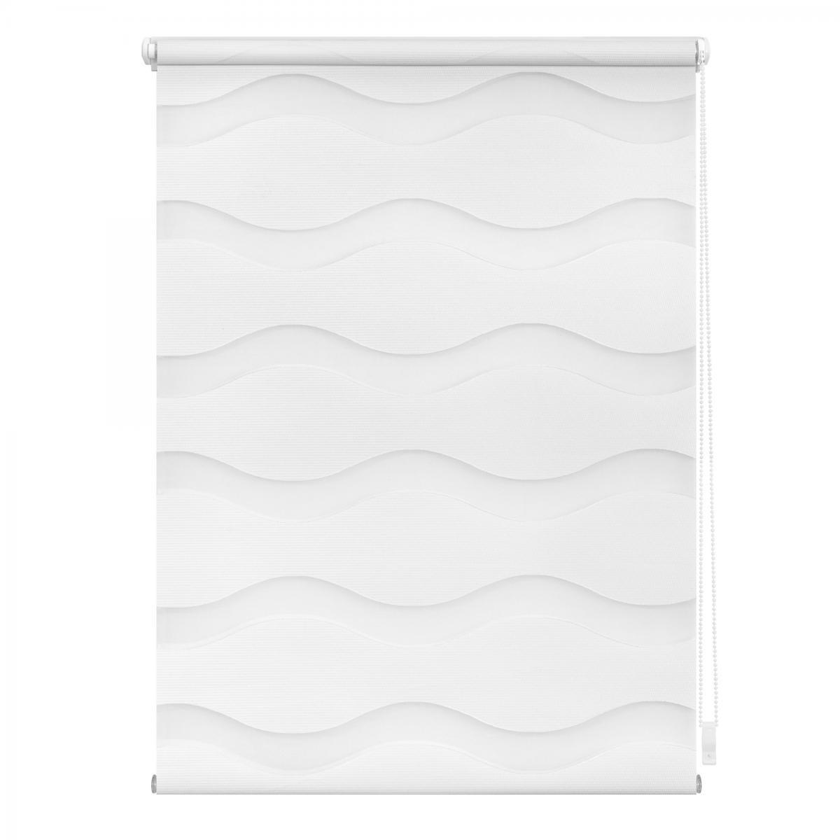 Bild 4 von Lichtblick Duo Rollo Welle Klemmfix, ohne Bohren, Weiß, 80 cm x 150 cm (B x L)